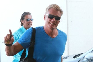 Dolph Lundgren Dolph Lundgren Out For Lunch At Cafe Roma
