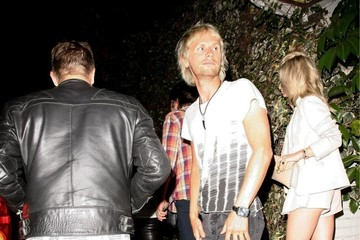 Dominic Howard Celebs Enjoy a Night Out at Chateau Marmont