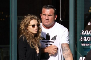 Dominic Purcell AnnaLynne McCord & Dominic Purcell Leaving A Dentist Office