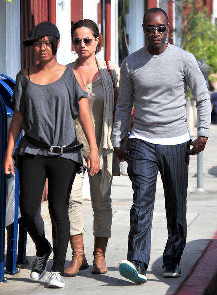 Golden Globe Awards 2015: Don Cheadle and Family Attend ... |Don Cheadle Family 2014