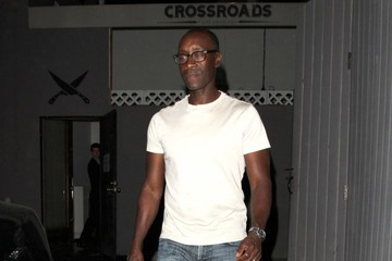 Don Cheadle Celeb Out to Dinner at Crossroads Restaurant