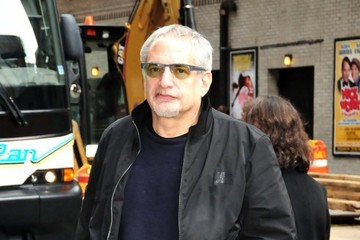 Donald Fagen Celebs Arrive for the Letterman Show