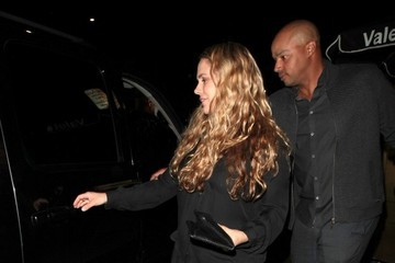 Donald Faison Celebrities Enjoy a Night Out at the Nice Guy