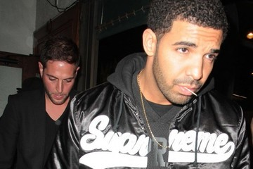 Drake Celebs Grab Dinner at Madeo