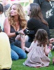 Alabama Jennings Drea de Matteo At The Coachella Music Festival Day 1