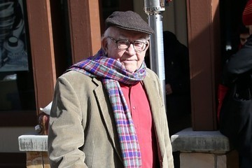 Ed Asner Celebrities At The 2015 Sundance Film Festival