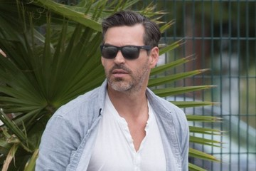 Eddie Cibrian LeAnn Rimes, Eddie Cibrian, and Brandi Glanville Watch Son Jake Play Soccer
