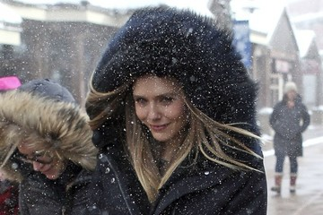 Elizabeth Olsen Celebrities Are Seen Out and About at the 2017 Sundance Film Festival