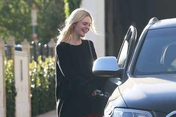 Elle Fanning Elle Fanning Leaves Barneys New York