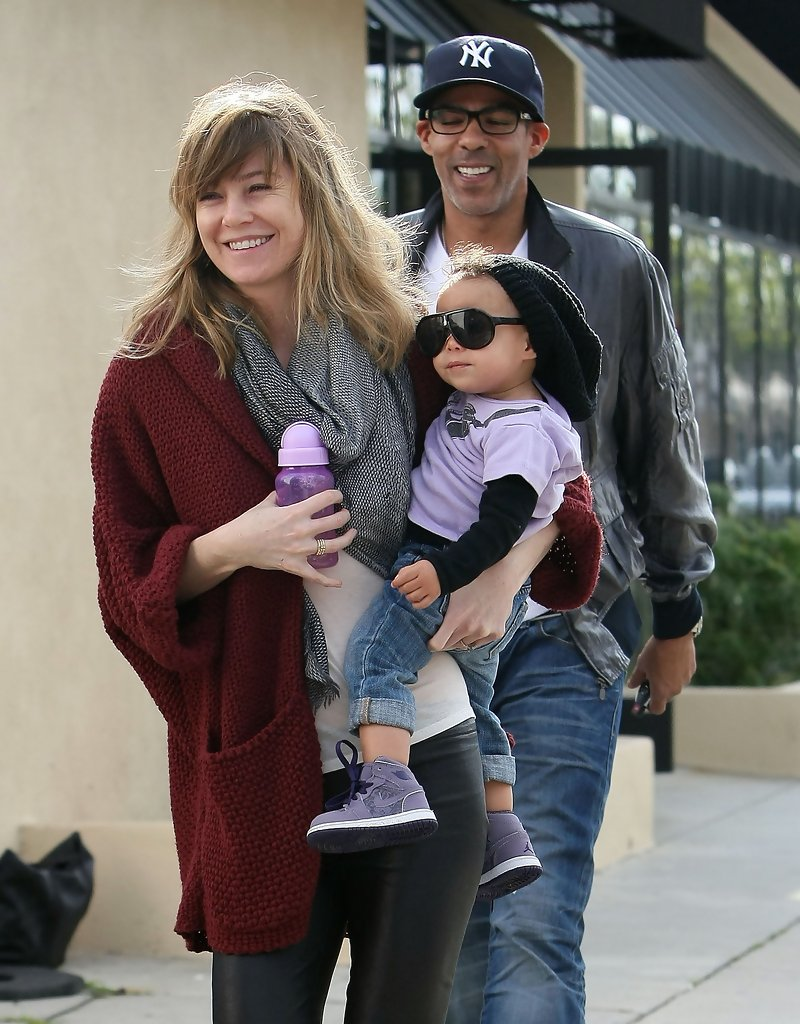 Ellen Pompeo Husband Ellen Pompeo And Chris Ivery Photos Photos Ellen Pompeo And