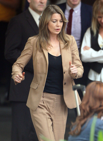 ... for 'Grey's Anatomy' in Los Angeles., California on April 4, 2012