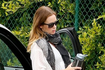 Emily Blunt Emily Blunt and John Krasinski Are Spotted Out and About