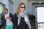 Emily VanCamp Touches Down at LAX