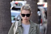 Emma Roberts Runs Errands in West Hollywood