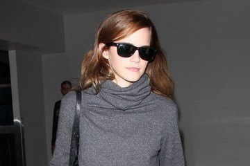 Emma Watson Emma Watson Departing On A Flight At LAX