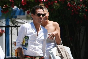Emme Anthony Jennifer Lopez and Marc Anthony Meet in LA