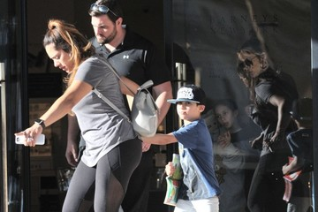 Emme Muniz Jennifer Lopez Takes Her Kids Shopping in Beverly Hills