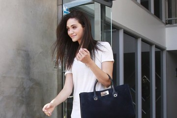 Emmy Rossum Birthday Girl Emmy Rossum Visits The Weidman Gallery