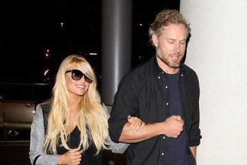 Eric Johnson Jessica Simpson and Eric Johnson Leave LA