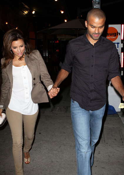Eva Longoria Parker & Husband Heading To Laugh Factory - Zimbio