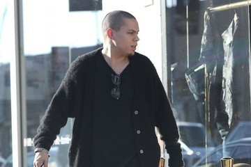 Evan Ross Ashlee & Evan Out Shopping In Los Angeles