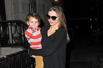 Flynn Bloom Miranda Kerr Carries Flynn in Her Arms