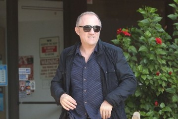 Francois-Henri Pinault Salma Hayek And Her Family Out to Lunch