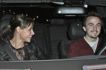 Elycia Turnbow Frankie Muniz & Girlfriend Leaving BOA Steakhouse