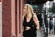 Frederique van der Wal Out and About in NYC