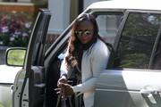 Friends and Family Visit Bobbi Kristina in Hospice Care