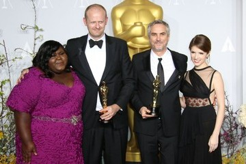 Gabourey Sidibe Press Room at the 86th Annual Academy Awards — Part 3