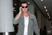 Gavin Rossdale Arrives at LAX
