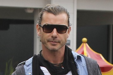 Gavin Rossdale Gwen Stefani and Family Go to Breakfast in Beverly Hills