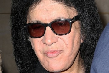 Gene Simmons Celebs Visit the 'Today' Show