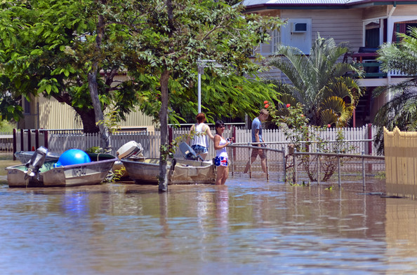 The 2011 floods in Rockhampton