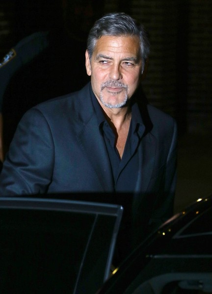 George Clooney leaving the late show Stephen Colbert 8th September 2015 George+Clooney+Celebs+Making+Appearance+Late+cUv6_TgMsb6l