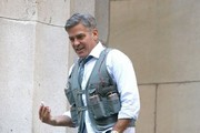 George Clooney Films 'Money Monster' Films in NYC
