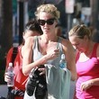 Gerda Theron Charlize Theron Getting In A Workout At Soulcyle