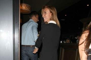 Giuliana Rancic Celebrities Dine Out at Craig's Restaurant