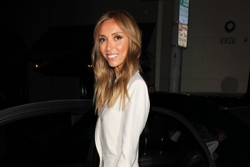 Giuliana Rancic Celebrities Out For Dinner at Craig's