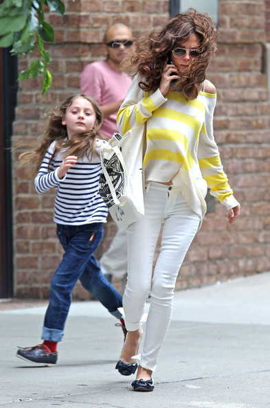 Anna Friel and daughter