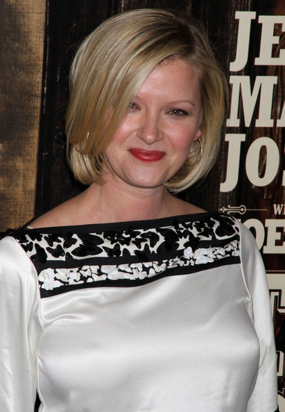 Gretchen Mol Celebrities at the premiere of 'True Grit' at the Ziegfeld theatre in New York City, NY.