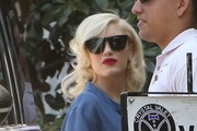 Gwen Stefani & Family Going To An Easter Party