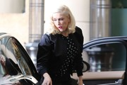 Gwen Stefani Spends the Day with Apollo