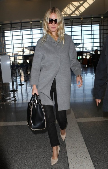 Gwyneth Paltrow - Gwyneth Paltrow Leaves LA