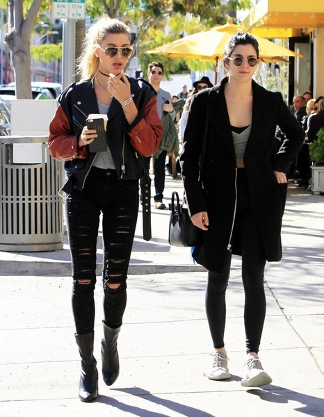 Models Off Runway: Kendall Jenner & Hailey Baldwin Lunch in Beverly Hills