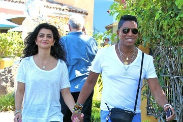 Halima Rashid Jermaine Jackson Takes His Wife to Lunch