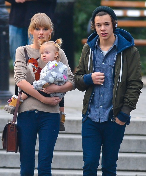 Harry Styles - Harry Styles And Taylor Swift Spend A Romantic Day In The Park