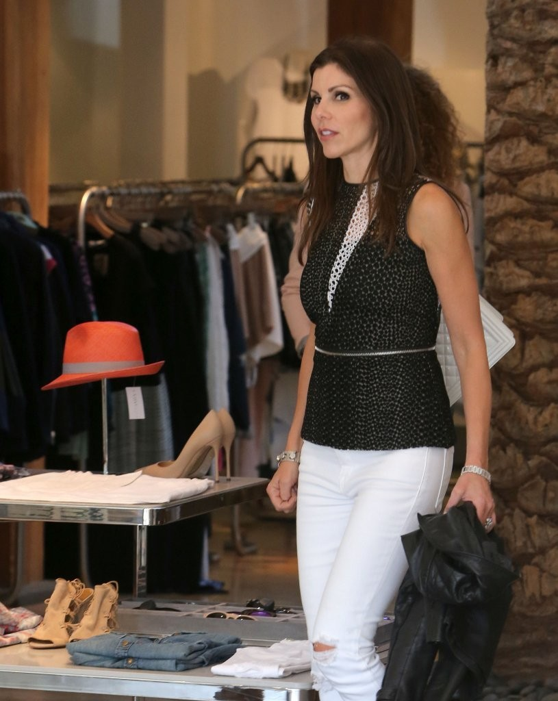 Image Of Heather Dubrow Styled Her Hair