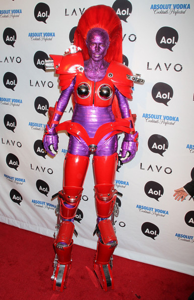 Celebrities at Heidi Klum's 11th Annual Halloween Party at Lavo in New York City, NY.